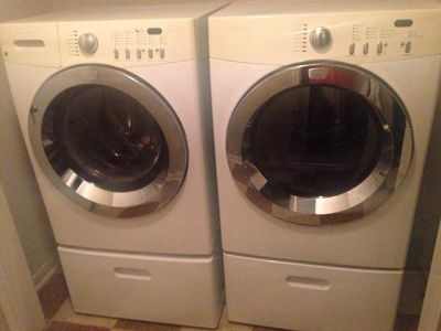 $350, Frigidaire Brand washer and dryer