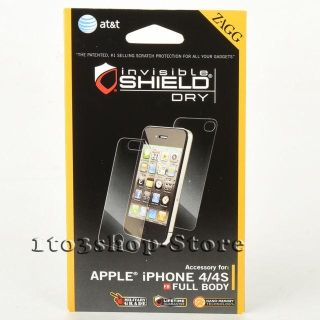 Iphone 4/4s screen protector