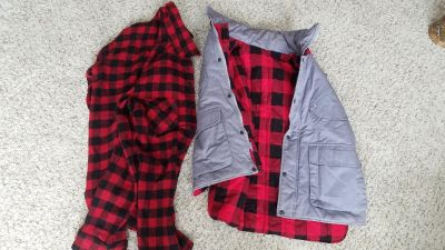 Wool Shirt and Vest