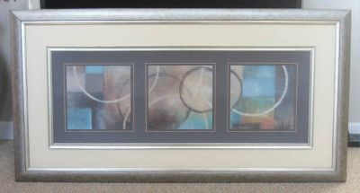 """ART - Large Abstract Wall Art - 62 1/4"""" W x 32 1/2"""" H"""