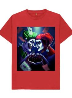 Harley Quinn & The Joker T-SHIRTS.
