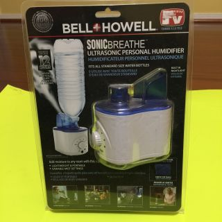 Bell+Howell Ultrasonic Personal Portable Humidifier-Cool Mist