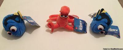 Finding Nemo Kids Disney Characters Dory & Hank