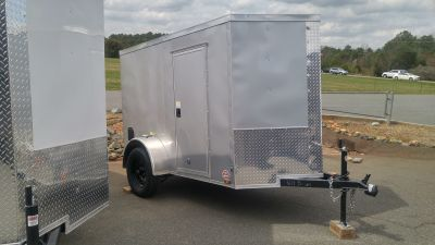 2018 Other NEW 5x8 V-nose Enclosed Trailer