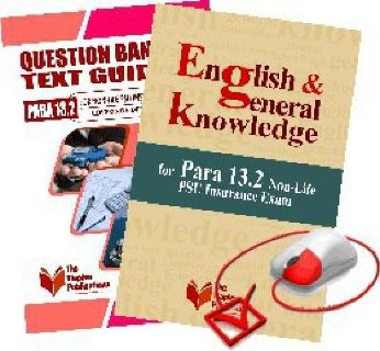 Best Books for PARA 13.2 Non Life Insurance Exam- June 2014 Edition