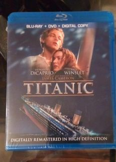 New in package. Titanic 4 disc Dvd/Blue-Ray/Digital copy