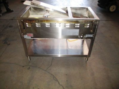 Duke Aerohot 3 Pan, Gas Steamtable RTR#7051007-03