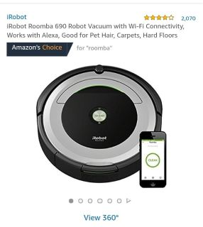 I robot roomba any style **LOOKING FOR**