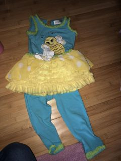 Emily rose bee tutu outfit, 2T