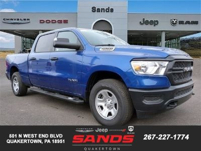 2019 RAM 1500 TRADESMAN CREW CAB 4X4 6'4 BOX (Blue Streak Paint)
