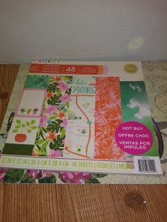 12x12 Paper pad Palm Springs 48sheets