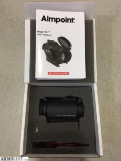 For Sale: Aimpoint T2 BNIB - No Mount