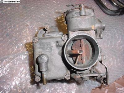 Complete Solex 30 Pict 2 Carburetor
