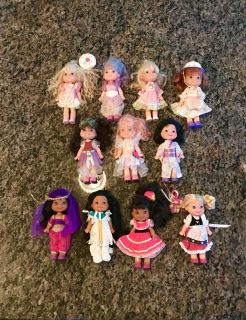 Vintage Cherry Merry Muffin & Disney It s a Small World Dolls
