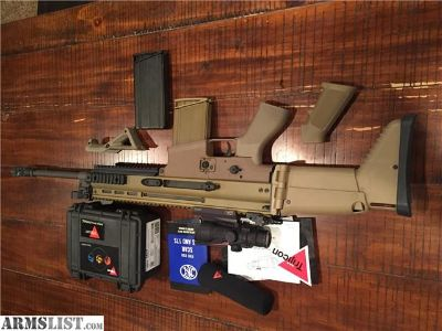For Sale: SCAR 17 with accesories Trijicon ACOG $3595