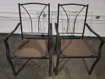 2 Outdoors Patio Porch Chairs