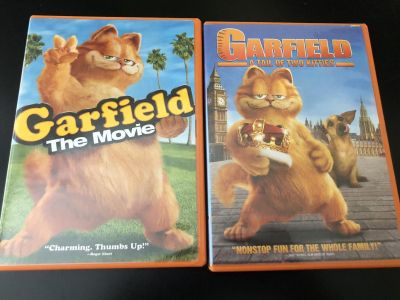 Garfield the Movie and Garfield Tale of Two Kitties
