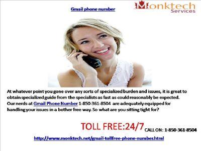 Benefit Gmail signal, acknowledge Gmail organizations 1-850-361-8504