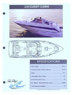 1991 SeaRay 230CC