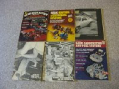 Pkg of 6 Petersen's Auto Repair Manuals $20. shipped in lower 48 States