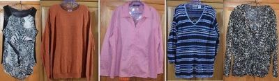 Lot of 5 tops all ladies 3XL $5 for all