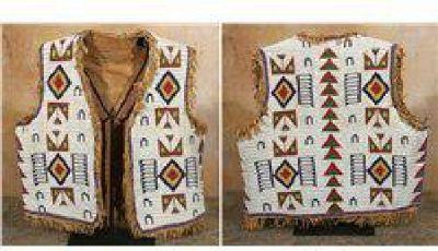 $2,250 Sioux Man's Vest