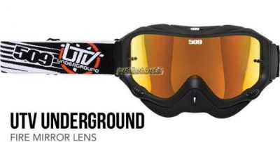 Buy 509-UTV Underground Dirt Pro Goggles - Fire Mirror Lens motorcycle in Sauk Centre, Minnesota, United States, for US $49.95