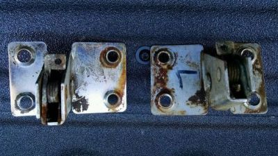 Sell 1955/6/7 CHEVY NOMAD TAILGATE LATCHES motorcycle in Cherry Valley, Illinois, United States