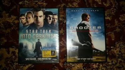 new dvds: shooter &/or star trek