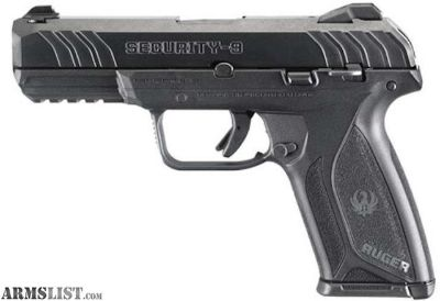 For Sale: Ruger Security-9 9mm Semi Auto Pistol