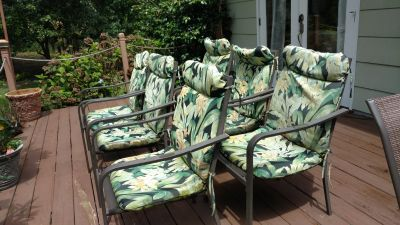 Patio chairs well made