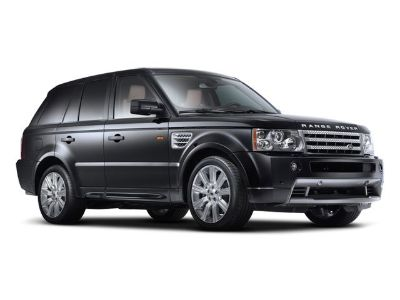 2008 Land Rover Range Rover Sport Supercharged (Black)