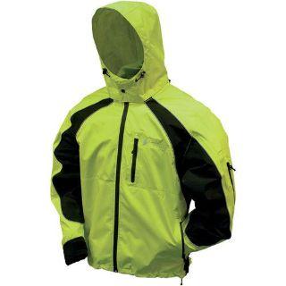 Find Frogg Toggs Kikker Jacket Hi-Vis Green/Black motorcycle in Holland, Michigan, US, for US $80.70