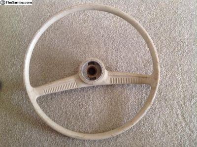 Type 1 VW Batwing steering wheel