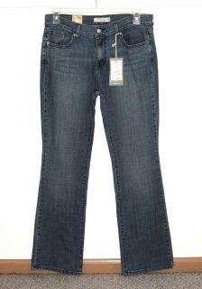 NEW $54 Levis 515 Boot Cut Mid-Rise Stud Pocket Denim Jeans 10 Medium 10M 32x32