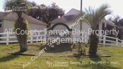 Awesome 3 bedroom 2 bath apartment home available in centrally located Plant City