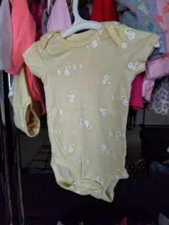 0 - 3 months. Lots of girls and boys clothes available