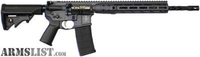 For Sale: NIB LWRC M61C DI 5.56 SPARTAN, STONE GREY RIFLE