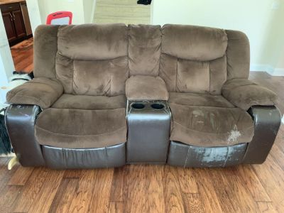 Three and Two seater Seude manual recliner