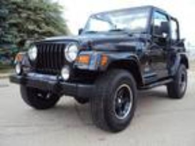 2001 Jeep Wrangler Black