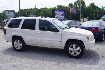 2001 Jeep Grand Cherokee Limited (White)