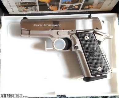 For Sale/Trade: Para Ordnance P12 1911, 45 caliber semiautomatic pistol with 8 magazines. Stainless