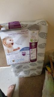 Owlet changing pad