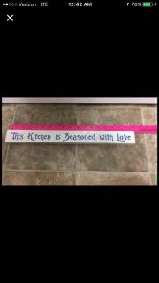 New kitchen decor this kitchen is seasoned with love