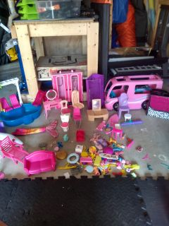 Barbie doll accessories