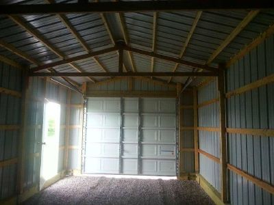 Portable garages and farm buildings