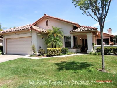 Beautiful Single Story Home Available in Desirable Rancho Bernardo