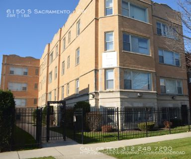 Priced to Rent!  2BR near Marquette Park, Shopping & Transportation!