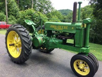 1936 John Deere Unstyled A Tractor for sale in Danville, West Virginia.