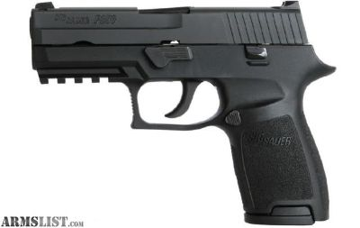 """For Sale: Sig Sauer P250 compact 40 S&W with 3.9"""" barrel"""